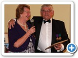 IMG_3493 Past Chairman Albert Walker receiving the Chairmans Certificate of Honour at the Region Chair's Dinner Dance